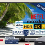 Telefunken D40U502N4CWH Ultra-HD Fernseher im Angebot » Real 23.12.2019 - KW 52