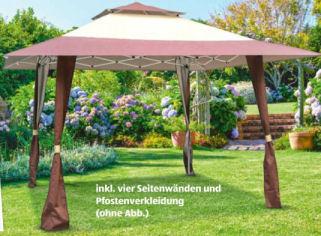 Outdoor-Pavillon / Faltpavillon 4 x 4 m im Angebot bei Aldi Nord + Aldi Süd 8.4.2020 - KW 15