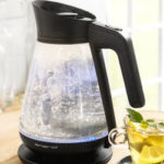 Norma 26.8.2091: PowerTec Kitchen Glas-Karaffen-Wasserkocher im Angebot