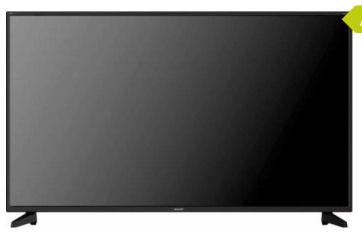 Sharp 50BJ2EE 50-Zoll Ultra-HD-LED-TV Fernseher