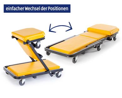Workzone Werkstatt-Rollliege