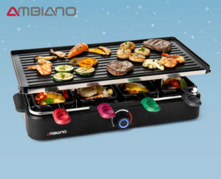 Hofer 9.12.2019: Ambiano Raclette-Grill im Angebot