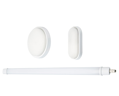 Casalux LED-Feuchtraum- und Arbeitsleuchte