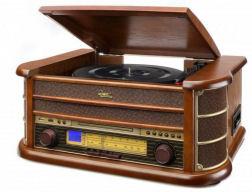 Dual NR4 Stereo-Nostalgie-Komplettanlage
