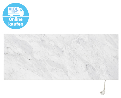 Photo of Aldi Süd 14.11.2019: Marmony Infrarotheizung Carrara-Marmor im Angebot