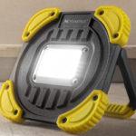 Maximus Akku-LED-Arbeitsstrahler 20 Watt im Angebot bei Norma 18.5.2020 - KW 21
