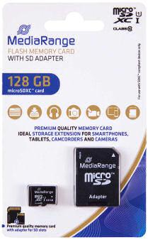 MediaRange MR945 MicroSDXC Speicherkarte
