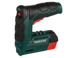 Parkside PAT 4 C4 Akku-Tacker für 14,99€ bei Lidl