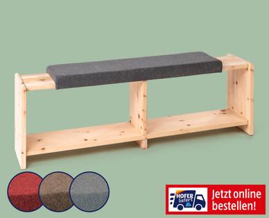 Hofer | Sitzbank aus Zirbenholz für 219€ als Lieferangebot