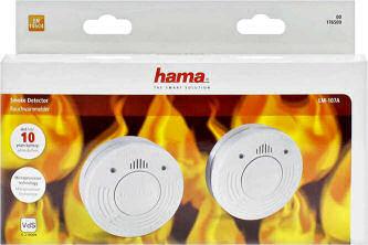 HAMA LM-107A Rauchwarnmelder-Set