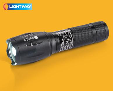 Lightway Akku-Taschenlampe mit Powerbank-Funktion im Angebot | Hofer 31.10.2019 - KW 44