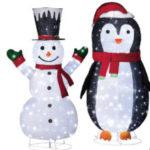 LightZone XXL-Weihnachtsfigur und LED-Mini-Weihnachtsfigur | Aldi Nord 4.11.2019 - KW 45