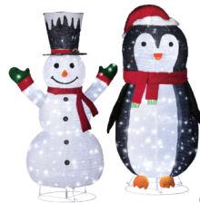 LightZone XXL-Weihnachtsfigur