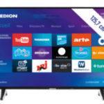 Medion Life X15060 Ultra-HD Smart-TV Fernseher im Angebot bei Aldi Nord + Aldi Süd 26.3.2020 - KW 13