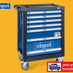 Hofer 31.10.2019: Scheppach Premium Werkstattwagen TW1000 bestückt im Angebot