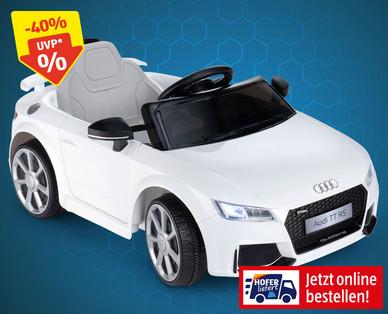 Hofer 28.11.2019: Audi TT Kinder-Elektro-Auto im Angebot
