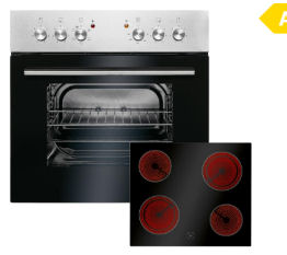 Bomann EHBC 560.1 IX Einbauherd-Set im Angebot | Real 11.11.2019 - KW 46