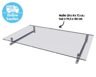 Bild von Solid Comfort Vordach 140 x 80 bei Aldi Nord + Aldi Süd 15.10.2020 – KW 42