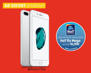 iPhone 7 Plus Smartphone im Angebot » Hofer 27.11.2019 - KW 49