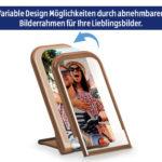 Hofer 8.1.2020: Maginon Wireless Charger mit Bilderrahmen im Angebot