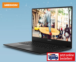 Medion Akoya E6245 Notebook im Angebot » Hofer 5.12.2019 - KW 49