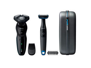 Philips S5082-64 AquaTouch und Bodygroom Rotationsrasierer