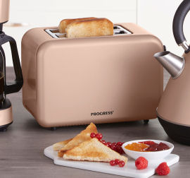 Progress Toaster Retro Metallic