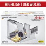 Ritter Solida 4 Allesschneider als Highlight der Woche | Aldi Süd 21.11.2019 - KW 47