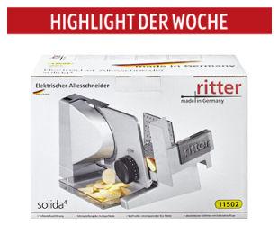 Ritter Solida 4 Allesschneider als Highlight der Woche   Aldi Süd 21.11.2019 - KW 47