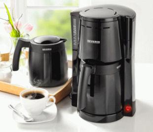 Severin KA 9234 Kaffeeautomat mit 2 Thermokannen im Angebot » Norma 13.1.2020 - KW 3