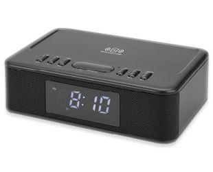 Bauhn Audio Radiowecker mit QI Ladung