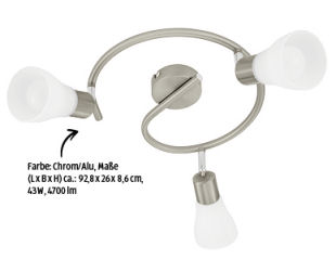 Casalux LED-Deckenleuchte Modell 2