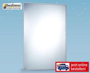 Hofer 16.12.2019: Heatness Spiegel-Infrarotheizung im Angebot