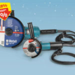 Hofer 19.12.2019: Makita DK0053G Winkelschleifer-Set im Angebot