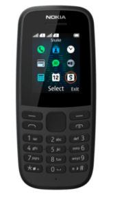 Nokia 105 Dual-SIM Mobiltelefon 2019 im Angebot » Aldi Nord 12.12.2019 - KW 50