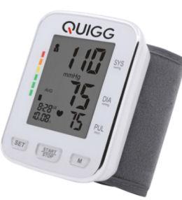 Quigg Handgelenk-Blutdruckmessgerät im Angebot » Aldi Nord 30.12.2019 - KW 1