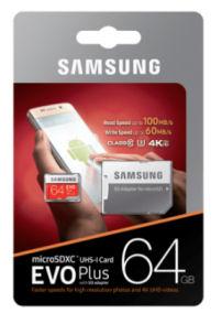 Samsung EVO Plus MicroSD-Speicherkarte