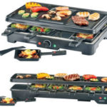 Silvercrest SRG 1200 B2 / SRGL 1200 A1 Raclette Grill für 19,99€ bei Lidl