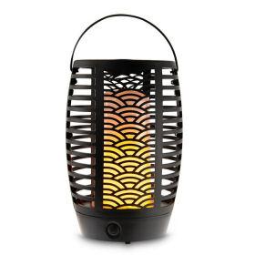 Belavi LED-Solar-Gartenfackel 3in1