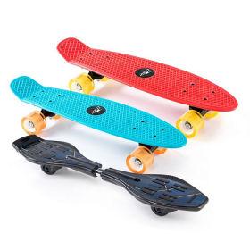 Hofer 23.3.2020: Crane Waveboard und Skateboard im Angebot