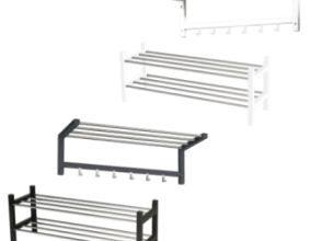 Bild von Home Creation Schuhregal und Garderobe im Angebot » Aldi Nord 13.8.2020 – KW 33