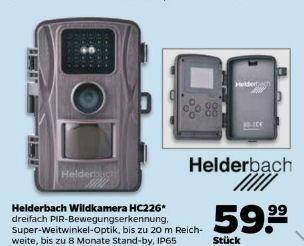 Netto 3.2.2020: Helderbach HC226 Wildkamera im Angebot
