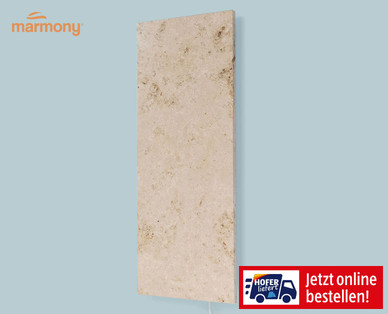 Marmony Infrarotheizung Braun