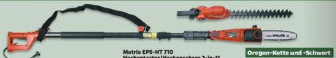 Netto 23.1.2020: Matrix EPS-HT 710 Hochentaster-Heckenschere im Angebot