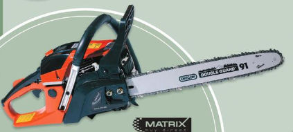 Netto 23.1.2020: Matrix MCS 46-45 Benzinkettensäge im Angebot