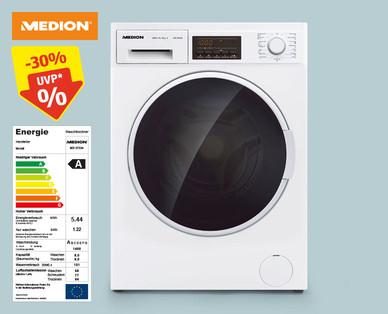 Aldi + Hofer 27.1.2020: Medion MD 37334 Waschtrockner / Waschtumbler im Angebot