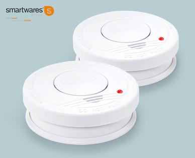 Hofer 27.1.2020: Smartwares Rauchwarnmelder Doppelpackung im Angebot