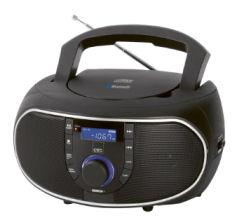 Clatronic SR 7028 BT/CD Bluetooth-Radio im Angebot bei Real 2.3.2020 - KW 10