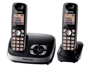 Bild von Real 8.3.2021: Panasonic KX-TG6522 Schnurlos DECT-Telefon Duo im Angebot