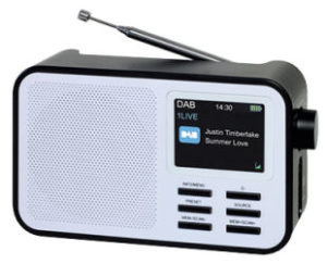 Terris Audio DAB+ Radio mit Akku